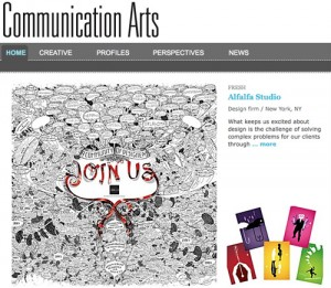Alfalfa Studio Featured in Communication...