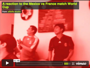 A Reaction to the Mexico vs France World...