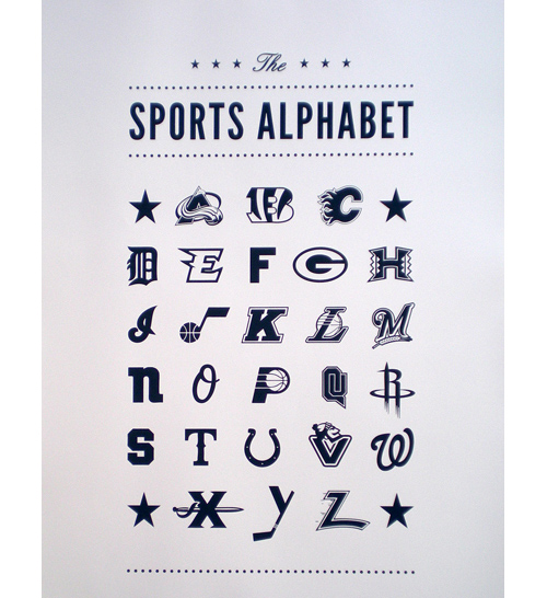 New York Branding Sports Graphic Design Companynew Firm The Complete Alphabet