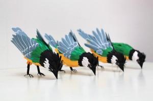 Birds of Paper Feathers: Bird Sculptures...