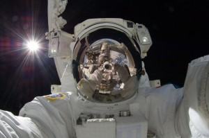 Self-Portrait in Space