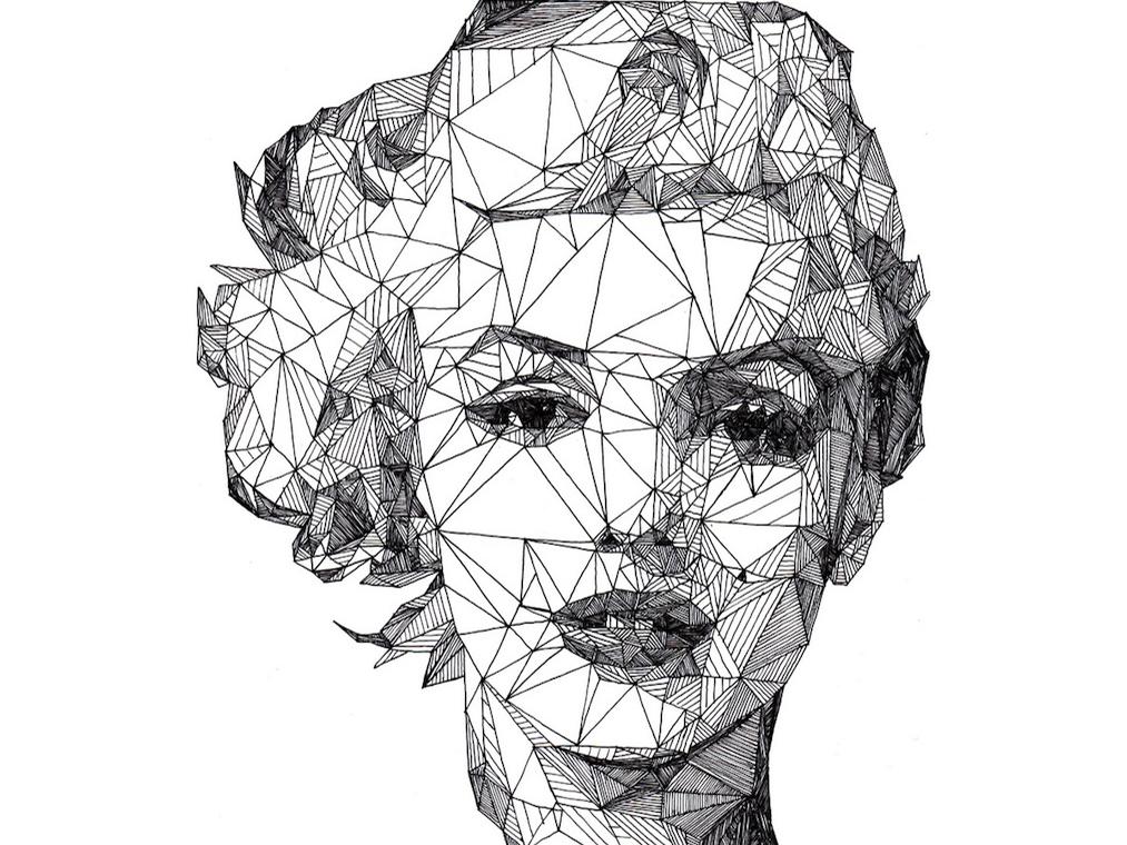 The Triangulation Portraits Of Josh Bryan Alfalfa Studio