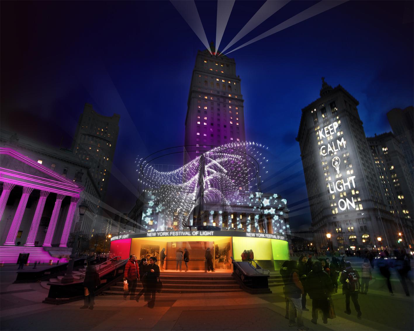 Tomorrow: the first ever new york festival of light alfalfa studio