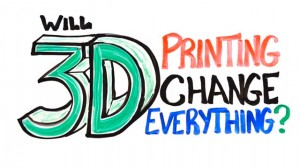Will 3D printing change all the rules?