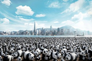 1,600 Papier-mâché Pandas Popping-up in ...