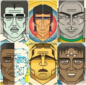 Christian Cañibe Illustrates Soccer Feve...