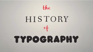 The History of Typography in 2,454 Photo...