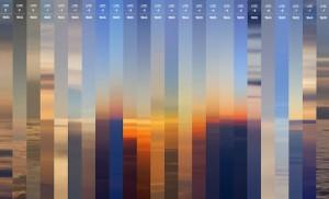 24 Sunsets Around the World