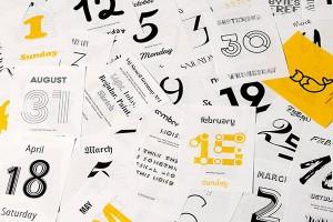 Creative 2015 Calendars