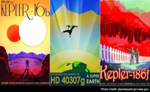 WPA Style Posters Created for Exoplanets...
