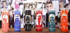 Pop Idol Devotion Candles by Paul Tuller