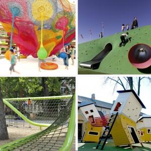Top 7 Creative Children Playgrounds