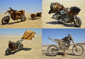The Mad Max: Fury Road Motorcycles