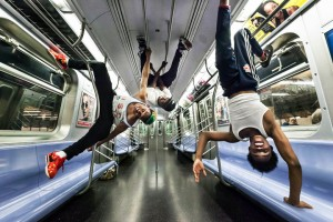 It's Showtime! NYC Subway Dance