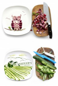 Food Art by Hong Yi