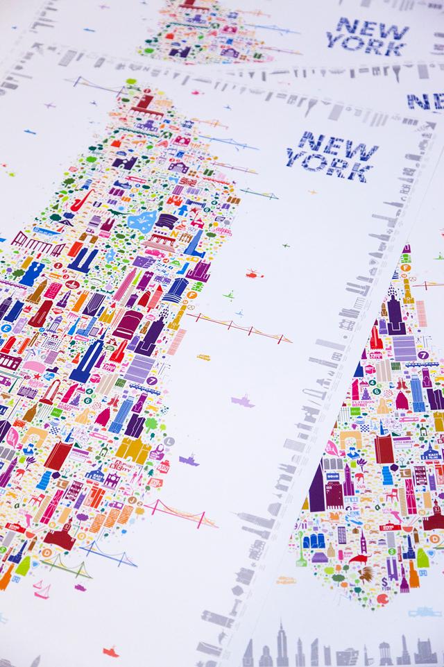 best new york gift souvenir keepsake poster
