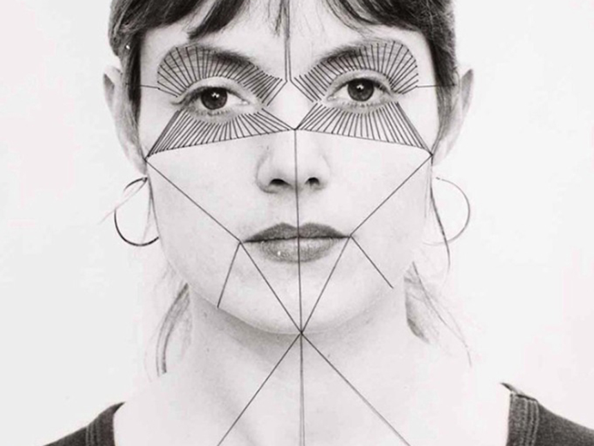eed519f06f8c3 The Embroidered Self-Portraits of Annegret Soltau. new york branding sports  graphic design agency. ""