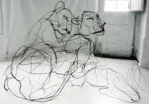 The Scribbled Sculptures of David Olivei...