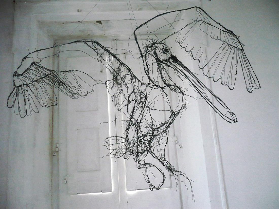 The Scribbled Sculptures of David Oliveira - Alfalfa Studio