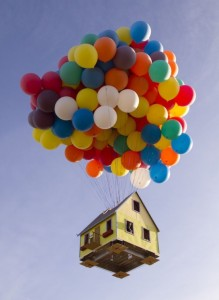 """UP"" in Real Life!"