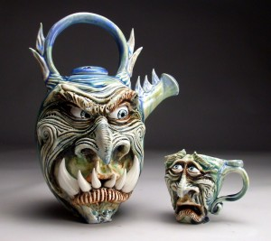 Quirky, Fantastical Pottery by Mitchell ...