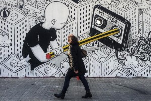 Millo's Giant Characters Lost in Imagina...