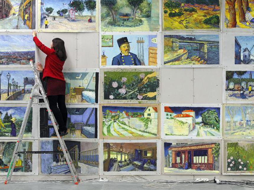 Loving Vincent The World S First Feature Painted Film Alfalfa Studio
