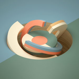 3D Animations of Color Relationships