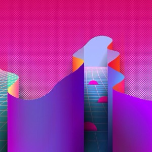 Abstract, Geometric, Surreal Design with...
