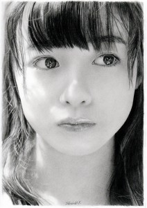 Photo-Realistic Pencil Portraits by Chin...