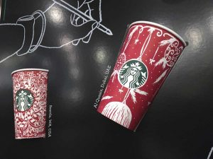 2016 Starbucks Holiday Cup