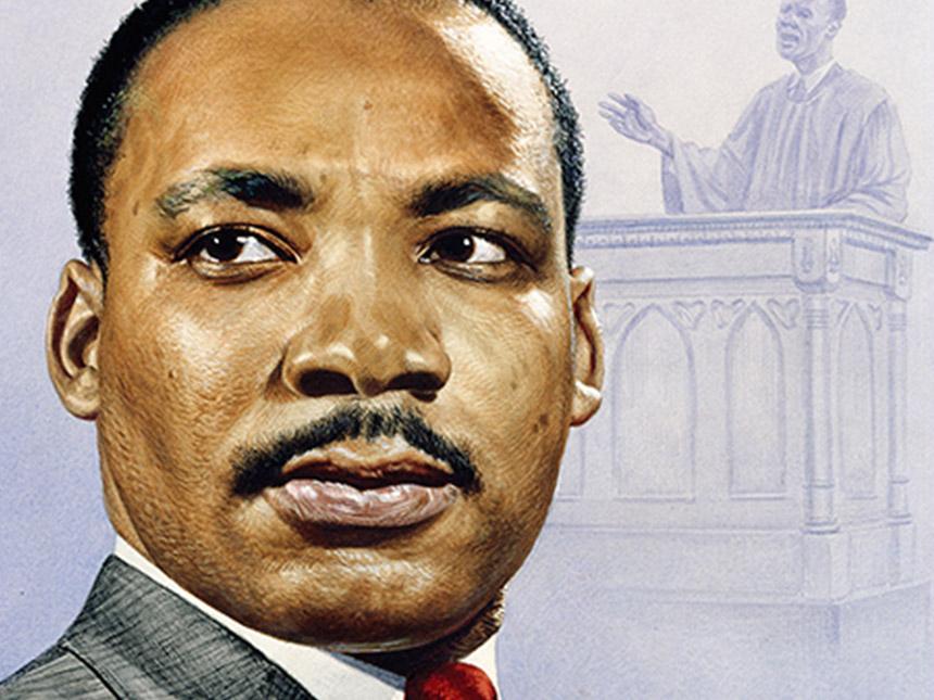 Three Martin Luther King Jr Iconic Portraits Alfalfa Studio