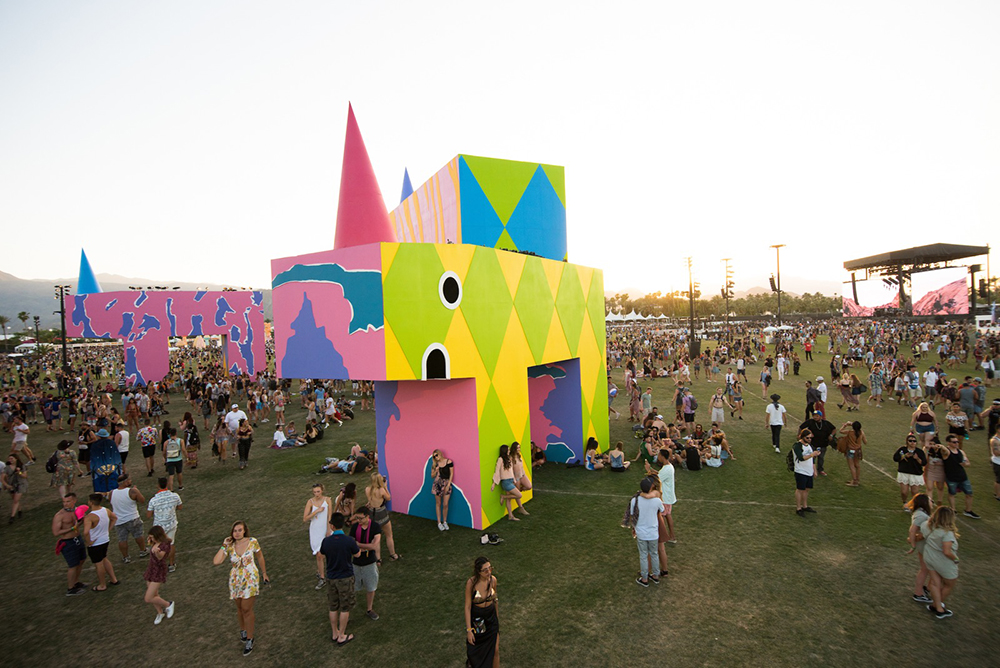 Coachella new york city creative graphic design studio firm