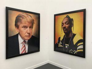 Donald Trump at the Frieze Art Fair
