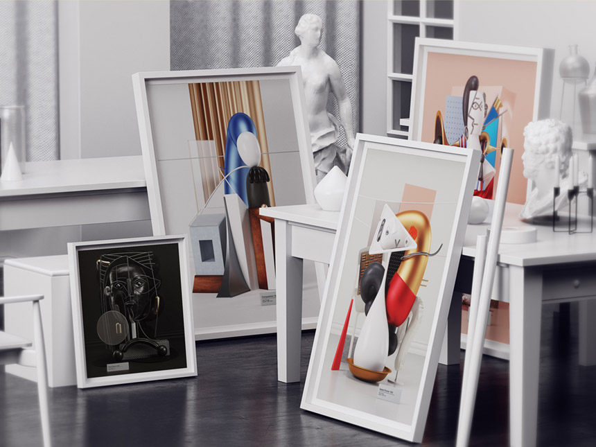 reinventing picassos work into 3d form new york branding sports graphic design company