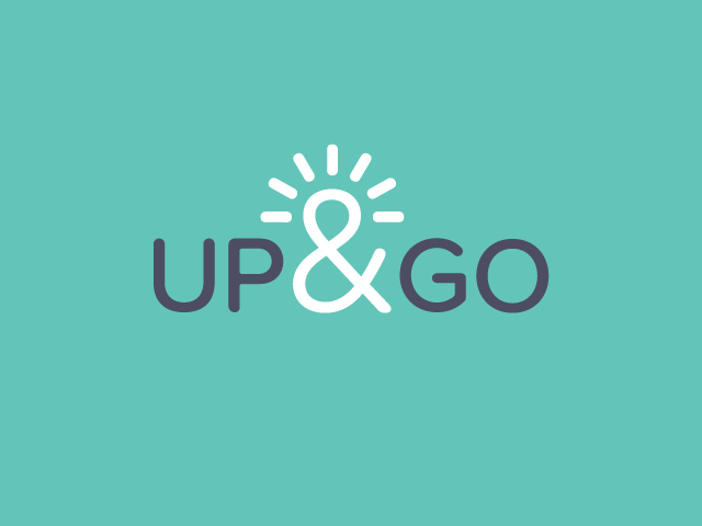 Up_&_Go_on_turquose_background