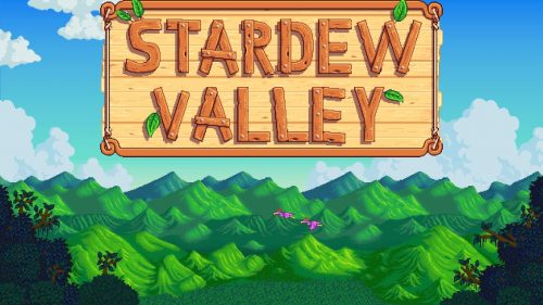 Stardew Valley videogame opening New york branding sports graphic design agency