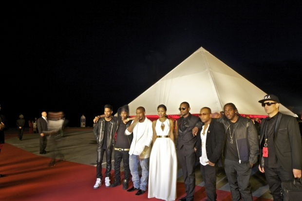 Kanye West Michael Rock 2x4