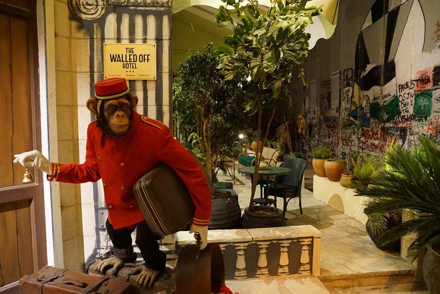 Banksys_Walled Off Hotel_Interior_Art_Painting_Graffiti_3