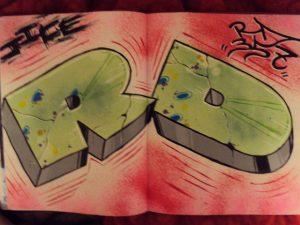 The Fall of Graffiti Artist RD