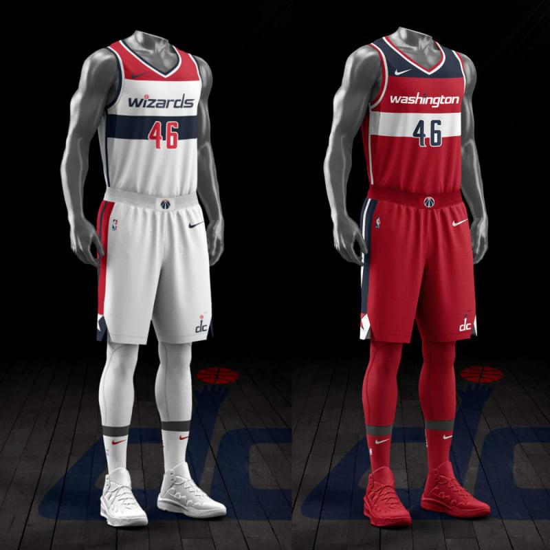 timeless design 092f1 ee204 NBA_Nike_Uniform_washington_wizards - Alfalfa Studio