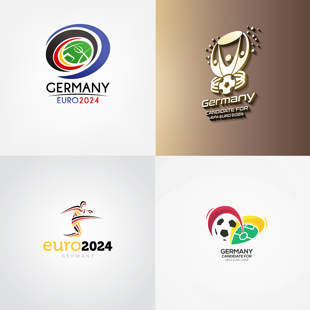 germanys bid for uefa euro 2024 and their logo competition alfalfa studio