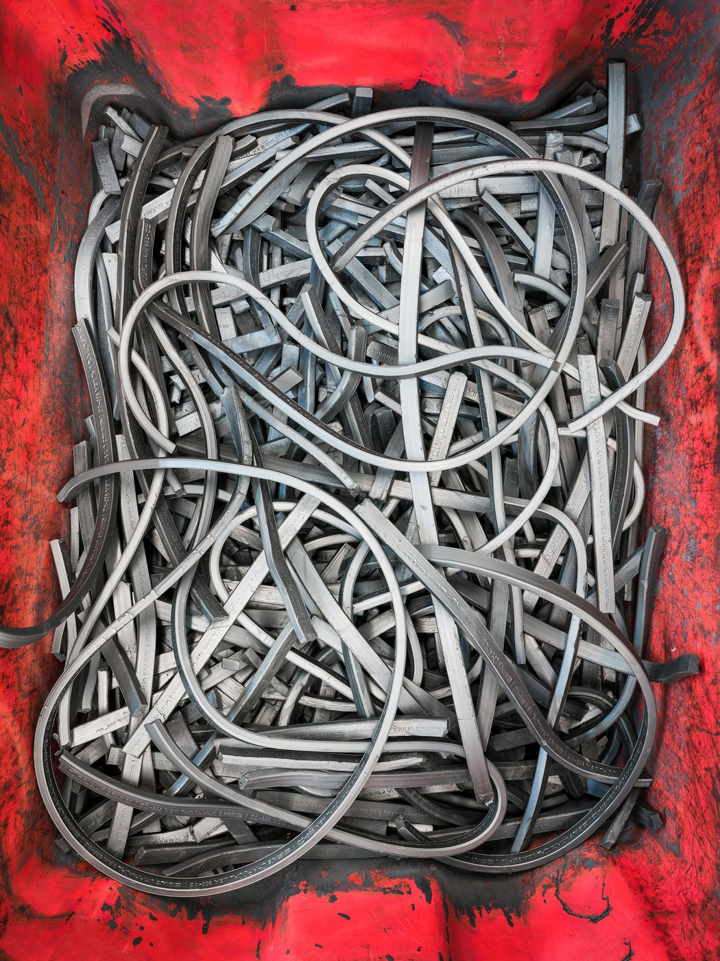 Graphite to be recycled © Christopher Payne