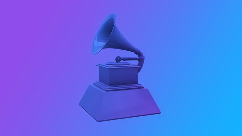 Gramophone 3D render.