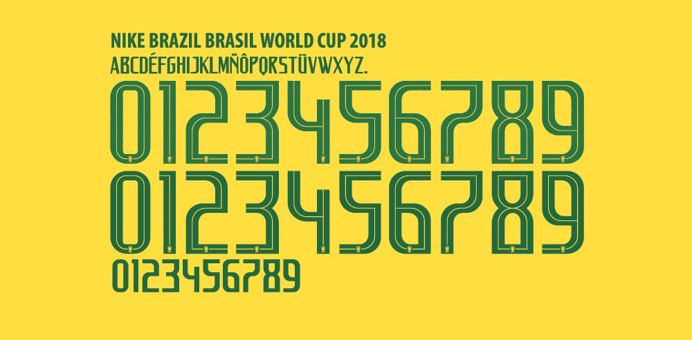 The Typefaces of the 2018 World Cup