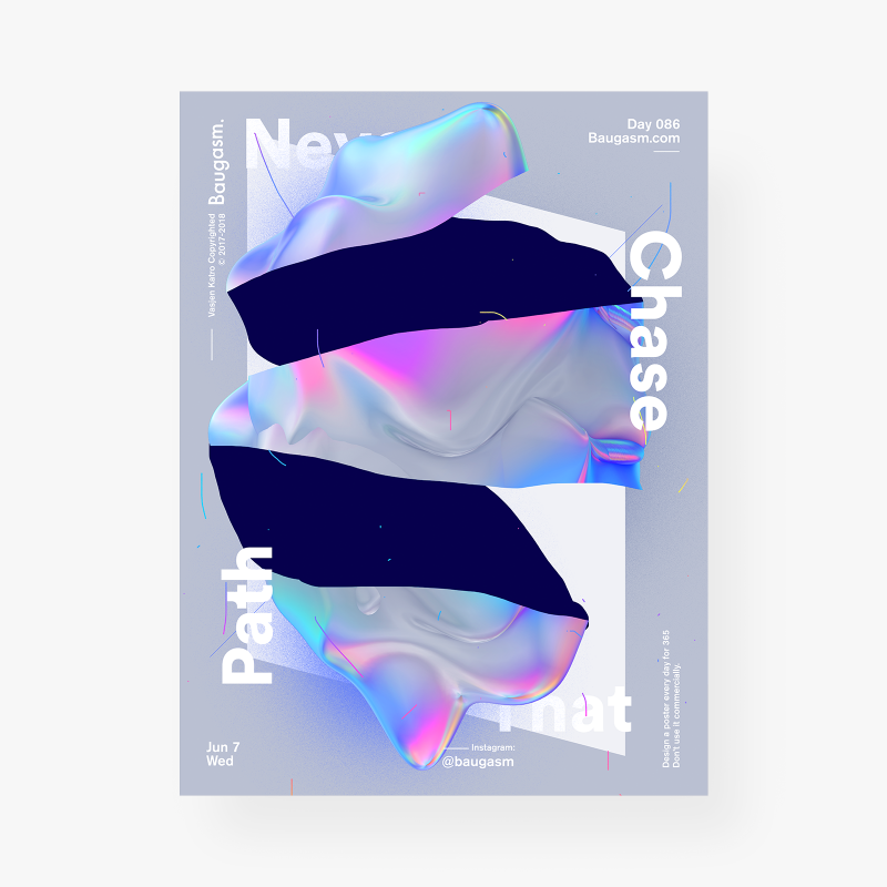 VasjenKatro Baugasm Poster Design Graphics