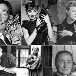 50 Remarkable Cats (and their very, very famous friends)