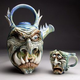 Quirky, Fantastical Pottery by Mitchell Grafton!