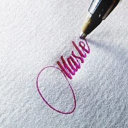 Beautiful Calligraphy with Ballpoint Pens